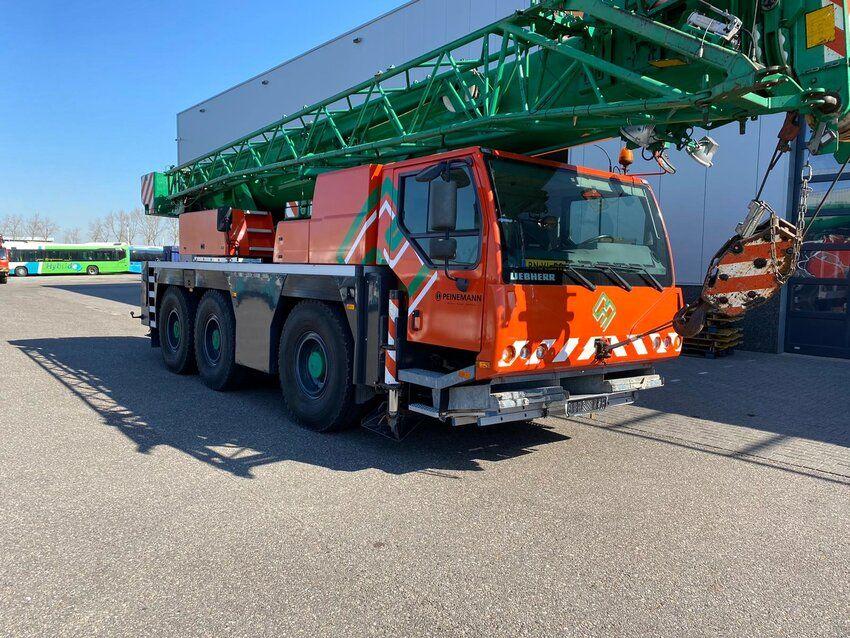 LTM 1045/1 (DUTCH CRANE TUV 45T JIB) - LTM 1045/1 (DUTCH CRANE TUV 45T JIB)
