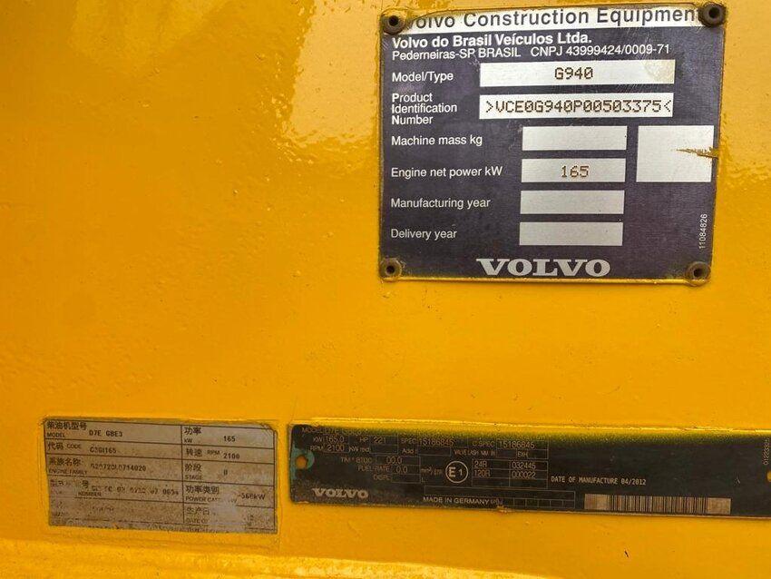 G940 (2012   8400 HOURS   EURO 3) - G940 (2012   8400 HOURS   EURO 3)